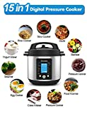 15-in-1 Electric Pressure Cooker and