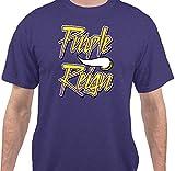 Purple Reign Vikings Football T-Shirt by Sweet Tees™
