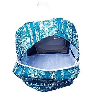 JanSport Superbreak Backpack- Discontinued Colors (Midnight Sky Floral Stripe)