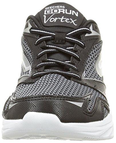 Men's Performance Skechers Run Vortex Black Go White AHUq0Cw
