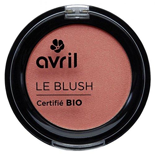 Makeup Blush Blusher Powder (Avril Natural Organic Powder Blusher EcoCert 2.5g - Pink Glamor (Rose Eclat))