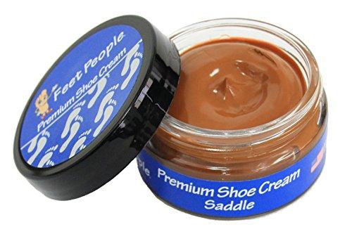 - FeetPeople Premium Shoe Cream 1.5 oz, Saddle