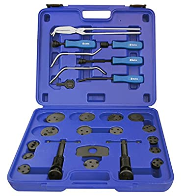 Astro 78619 18pc Brake Caliper Wind Back Tool Set & 8pc Professional Brake Tool Set