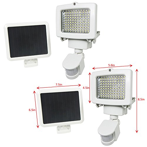 60 Led Solar Powered Motion Sensor Flood Light in Florida - 9