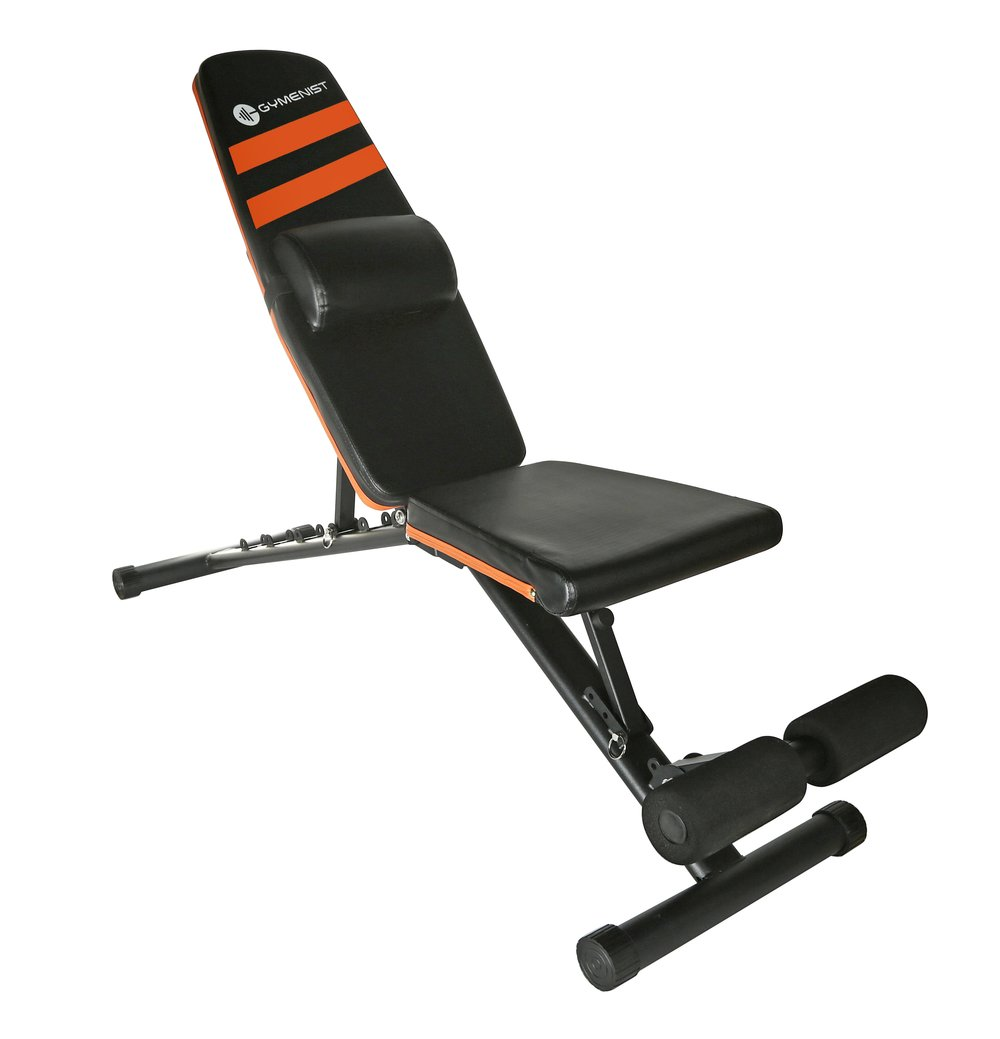 Gymenist foldable exercise bench