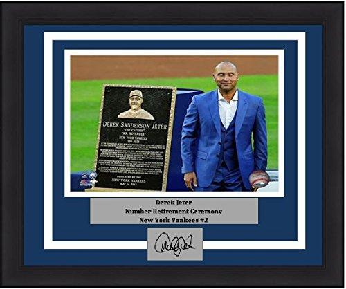 Derek Jeter Replica Baseball Jersey (New York Derek Jeter Retirement Plaque 8