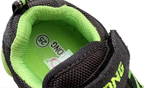 Casual PPXID US Lace 5 Girl's Size Athletic Sneaker up Running 11 Boy's Shoes Green wX6UXfq