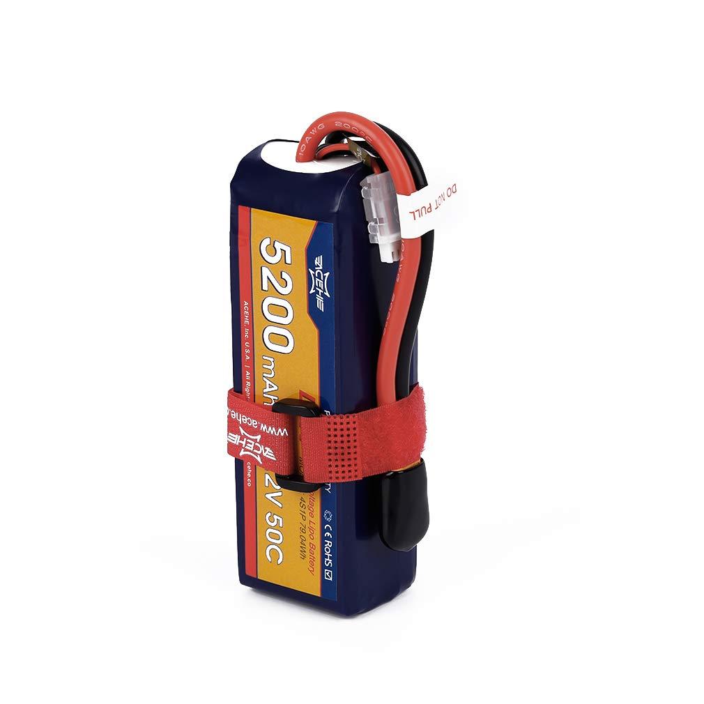 FairytaleMM ACEHE 15.2V 5200mAh 50C 4S1P 79.04Wh XT60 Plug de Alta tensión de la batería de Lipo (Color: Azul)