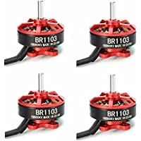 BangBang 4X Racerstar Racing Edition 1103 BR1103 10000KV 1-2S Brushless Motor Red For 50 80 100 RC Multirotor