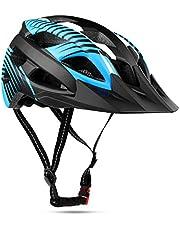 Shinmax Fietshelm CE-certificaat Fietshelm met Afneembare Veiligheidsbril Vizierschild voor Dames Mountain- en Racefietshelm Verstelbare Veiligheidsbescherming, Skateboarden, Ski & Snowboard
