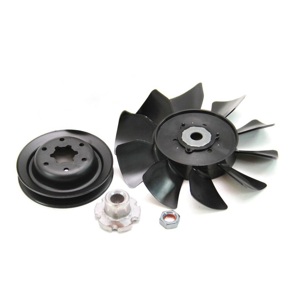 Hydro-Gear 584285002 Lawn Tractor Transaxle Fan and Pulley Kit Genuine Original Equipment Manufacturer (OEM) part for Hydro-Gear & Tuff Torq