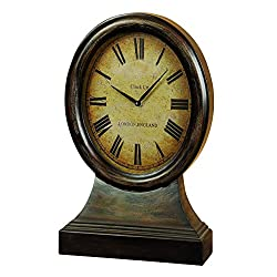 Deco 79 Wood Table Clock Looks Like Coordinating Antique Table Decor