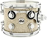 DW Collector's Series Finishply Mounted Tom - Maple - 8'' x 10'' Broken Glass