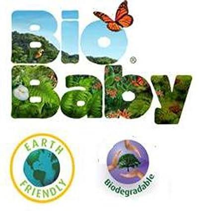 Baby Bio capas ecológicos desechables, biodegradables 124-Pañales (12-16) kg: Amazon.es: Bebé