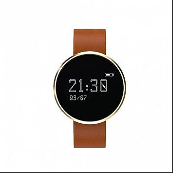 Pulsera Inteligente con Pulsómetro,Pulsera Reloj Inteligente con Control Remoto de Cámara/GPS /