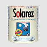 SOLAREZ UV Cure Clear Casting Resin (Gallon) for DIY Jewelry Craft Decoration Making - Crystal Clear