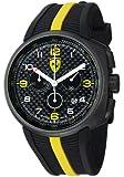 FerrariMen's Fast Lap Black Dial Black Strap Chronograph Watch