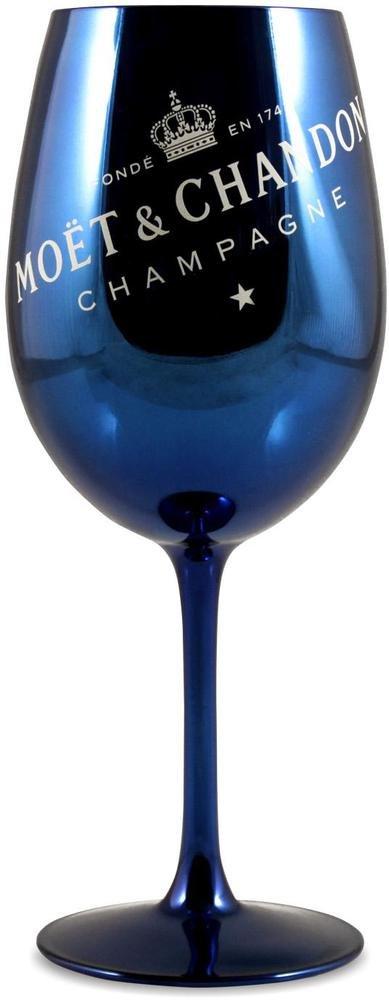 Moët & Chandon Champagne Glass Goblet Navy Blue x 1