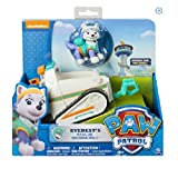 Paw Patrol Everest's Rescue Snowmobile for Kids Gges 3+, Vehicle and Figure by Illuminations