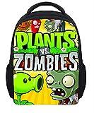 Unisex Pupils Cartoon Students Schoolbag Backpack (Color D)