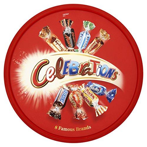 Celebration Chocolates (Mars Celebrations Tub 680g (23.9oz) x 1)
