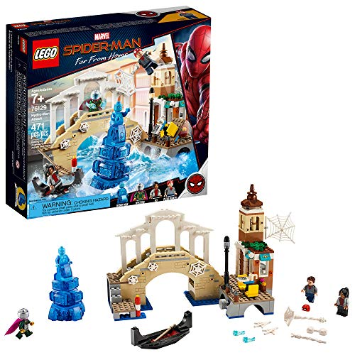 LEGO Marvel Spider-Man Far From Home: Hydro-Man Attack 76129 Building Kit, New 2019 (471 Piece)