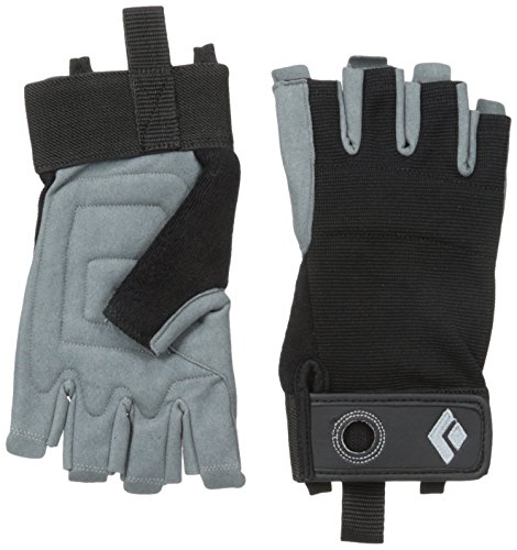 Black Diamond Erwachsene Handschuhe Crag Half Finger Gloves, Black, M, BD801859BLAKMD_1