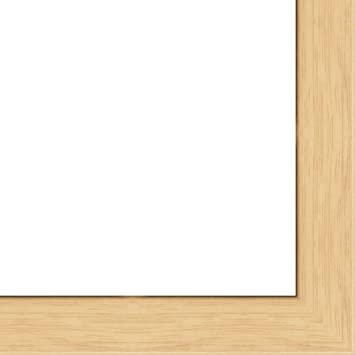 813731001722 Craig Frames 17x22 Inch Dark Brown Solid Oak Wood Picture Frame Bunker Hill 2.75 Wide