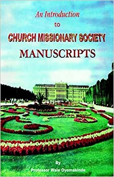 Book An Introduction to Church Missionary Society Manuscripts