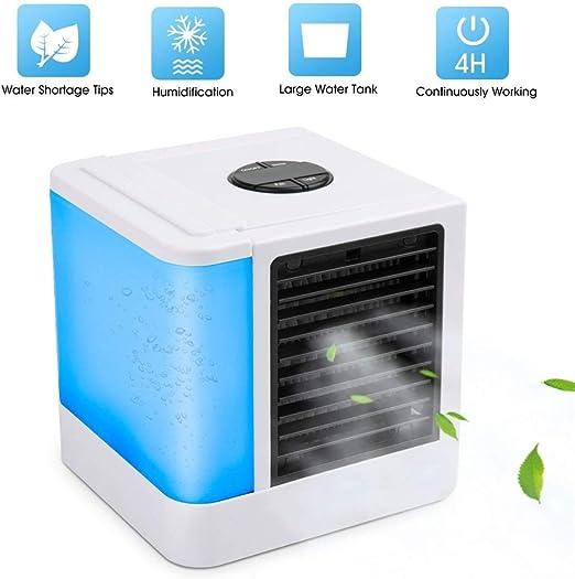 Mini Aire Acondicionado Ventilador USB 3 En 1 Aire Personal Space ...
