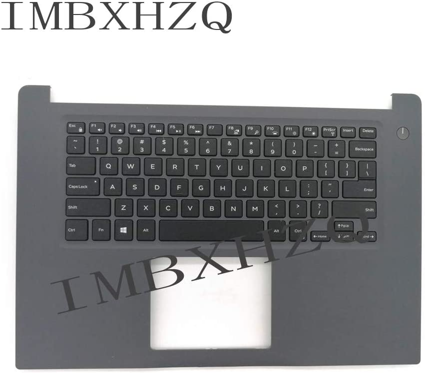 Compatible Replacement for Dell 15-7000 7560 7572 Palmrest Upper Case Keyboard Bezel KB
