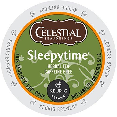 - Celestial Seasonings Sleepytime Herbal Tea, Single-Serve Keurig K-Cup Pods, Herbal Tea, 96 Count