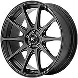"Motegi Racing MR127 Satin Black Wheel (18x8""/5x114.3mm, +38mm offset)"