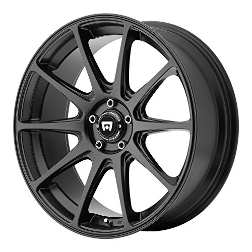 "Motegi Racing MR127 Satin Black Wheel (17x8""/5x114.3mm, +38mm offset)"