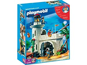 playmobil 4294 soldier fortress with lighthouse amazon. Black Bedroom Furniture Sets. Home Design Ideas