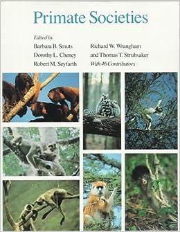 Book Primate Societies