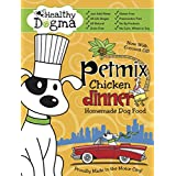 Healthy Dogma Human Grade Grain Free Dog Food | All Natural, Allergen Free, Gluten Free Dry Dog Food Petmix with MSM, Chondroitin, Hyaluronic Acid, and Glucosamine for Dogs (Chicken Dinner, 2 Pounds)
