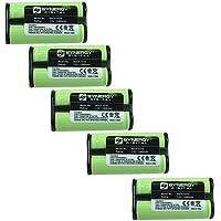 Synergy Digital Cordless Phone Batteries - Replacement for V-tech 80-5017-00-00, 80-5216-00-00 Cordless Phone Batteries (Set of 5)