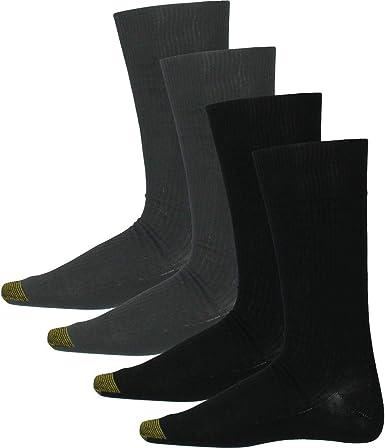 Gold Toe Mens 4-Pair Vapor-Tech Moisture Control Dress Socks 2823S
