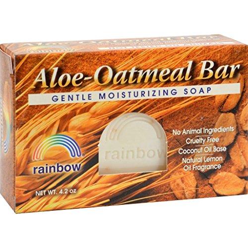 Rainbow Research Bar Soap Aloe Oatmeal - 4 (Series Deck Tub)
