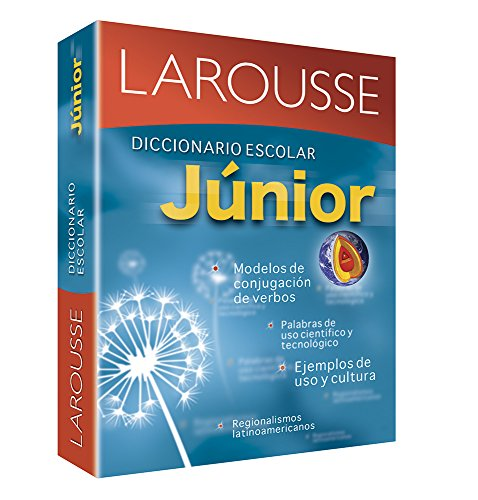 Diccionario Escolar Junior: Larousse Junior School Dictionary (Spanish Edition) [Editors of Larousse (Mexico)] (Tapa Blanda)