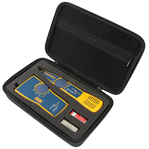 co2crea Hard Travel Case for Fluke Networks IntelliTone Pro 200 Toner Probe Kit MT-8200-60-KIT ()