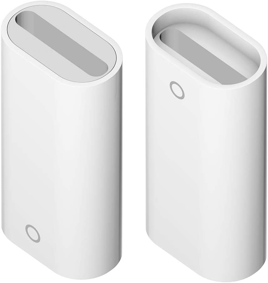 iMangoo Adapter Compatible with iPad Pro Pencil Female to Female Covertor for Apple Pencil Adapter Charger Cable Connector Pencil Charging Adapter 2 Pack