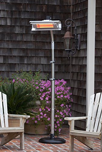 Amazon Com Fire Sense Telescoping Infrared Indoor Outdoor Heater