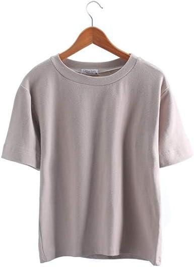 Mejores Amigos Camiseta Mujer Nuevas Camisetas Mujer Vogue Vintage Camisetas algodón Mujer O Cuello Manga Corta: Amazon.es: Ropa y accesorios
