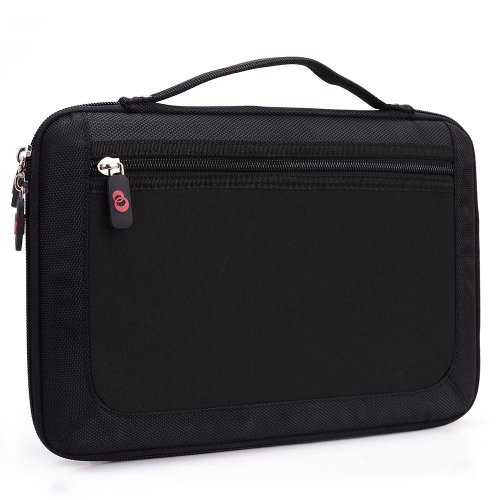 - Kroo Slim 11-Inch Tablet Case with Carrying Handle - Black (ND11HDK1-6486)