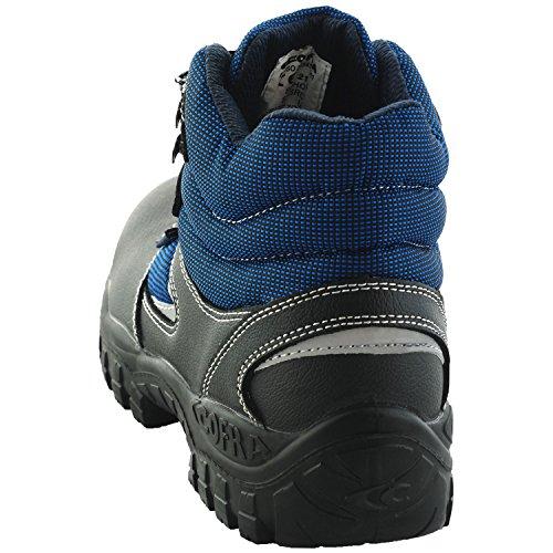 Cofra No. TA100Schöne Augenblicke Schwarzweiss–�?00.w42Arbeit Schuhe, Soho, Größe 8, Blau/Schwarz