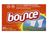 Bounce 1523568944047 Controls Fabric Softener Dryer Sheets Outdoor Fresh80.0 ea(10pk), 80