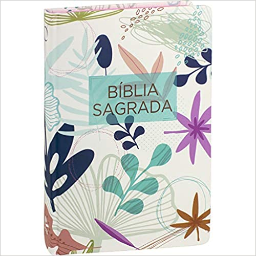 Bíblia Sagrada Almeida Revista e Atualizada - Capa Flores I: Almeida Revista e Atualizada (ARA)