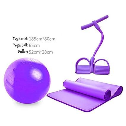 Amazon.com: PANGU-ZC Exercise Ball Set - Yoga Ball Yoga Mat ...
